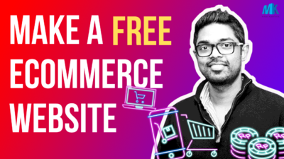 How to Make an eCommerce Website